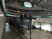 Dallas Stars TV camera