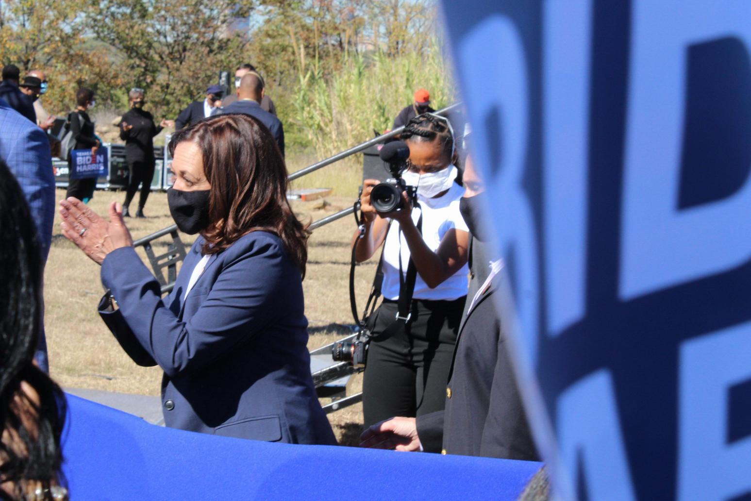 Sen Kamala Harris Uses Fort Worth Rally To Call For New National Leadership Fort Worth Weekly