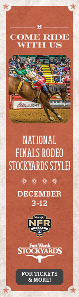 FWS-14699 NFR PRE-RODEO BANNER 160x600 AD