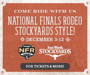 FWS-14699 NFR PRE-RODEO BANNER 300x250 AD