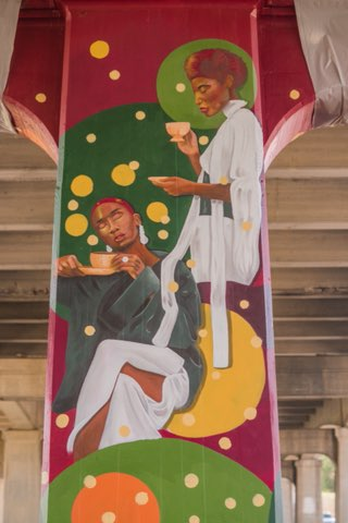 City Official Disagrees with Black Muralist's Depiction of Black Life