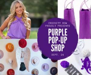 Purple Pop-up Shop- Rectangle